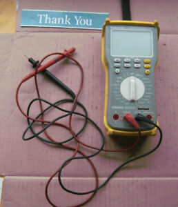 Newport True Rms Supermeter Hhm290 n Needs New Leads No Manual Or Accesories