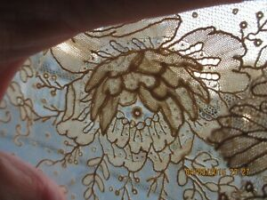 Antique Brussels Point De Gaze 19th C Lace 9 X 27 Some Tanning And Small Holes