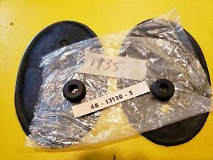 Ford Flathead V 8 1935 Head Light Assembley To Fender Pads Nice Heavy Rubber
