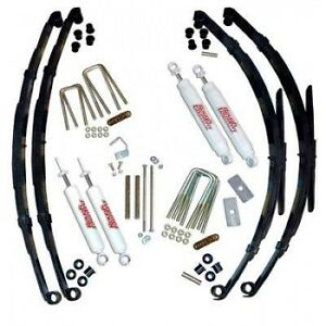 Rough Country 3 Suspension Lift System Fo Toyota Pickup 79 83 4wd W Rr Springs