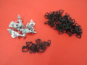 1938 Ford Deluxe Body Trim Moulding Clip Set 81a 20000 B
