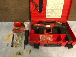 Hilti Dx 76 Mx Fastening Powder Actuated Nail Gun Tool For Steel Structures