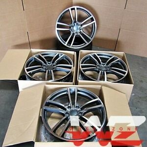 22 Wheels Fits Porsche Cayenne S Gts Touareg Audi Q7 22x10 5x130 Rims Set Of 4