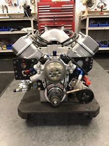 Nascar Chevy Sb2 Complete Engine 359 Cid 844hp 550ft lbs Fresh Build New Parts