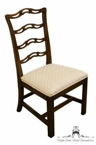 Ethan Allen Georgian Court Ladderback Dining Side Chair 11 6212 Vintage 225