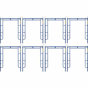 Metaltech Saferstack 6ft X 5ft Arch Frame 8 pack Model M ma7660psk8