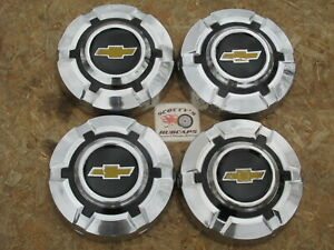1968 74 Chevy 1 2 Ton Pickup Truck Van Stainless Dog Dish Hubcaps Set Of 4