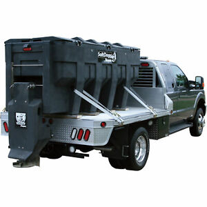 Saltdogg Electric Poly Hopper Spreader 3 0 Cu Yd Cap 6 5 ton Trucks shpe3000