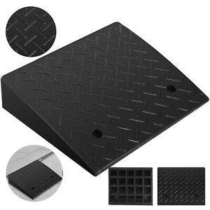 17000lb Rubber Curb Ramp 19 x15 7 x4 Industrial Forklift Skid Resistance