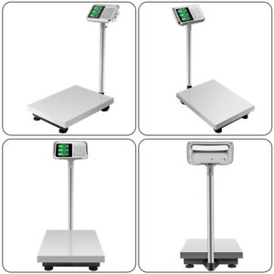 300kg 661lbs Lcd Display Personal Floor Postal Platform Electronic Weight Scale