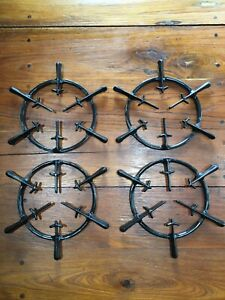 Wedgewood Vintage Stove Parts Gas Stove Burner Grate Set Of 4