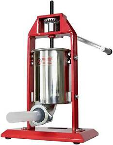3l Vertical Sausage Stuffer Stainless Steel Iron New Free Ship