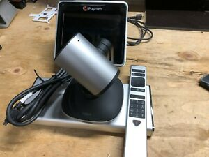 Polycom Group 300 Used W Logitech Ptz Pro 2 Plus Touch Screen