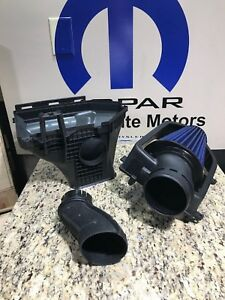 15 17 Challenger Cold Air Intake Cai 6 4l With Hellcat Box And Tube Oem