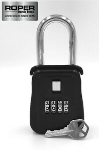 Key Lock Box For Home Security Welfare Check Medical Emergency Door Hanger