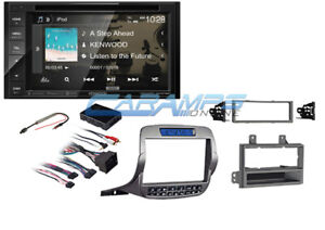 New 6 2 Kenwood Stereo Radio W Bluetooth Sirius Xm W Install Kit For Camaro