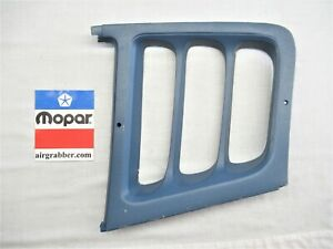 1973 1974 Dodge Charger Se 1 4 Quarter Window Passenger Interior Louvers Blue