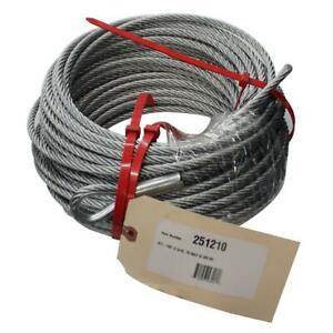 Ramsey Winch 251230 Replacement Cable 7 16 In X 90 Ft With Hook Each