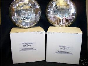 1976 1977 1978 Ford Mustang Headlamps Set Of 2 Nors