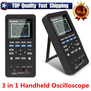 Hantek 3 In 1 Handheld Oscilloscope Waveform Generator Digital Multimeter