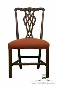 Ethan Allen Georgian Court Chippendale Side Dining Chair 11 7400