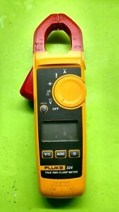 Fluke 324 True Rms Digital Clamp Meter Multimeter used