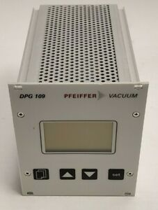 Pfeiffer Vacuum Dpg 109 Controller W Display Max 9 Digiline Gauge Heads