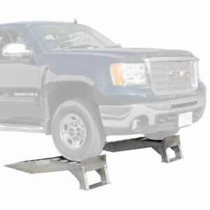 Pickup Truck Wheel Ramp Lift Stand For Oil Change Auto Service Ramps 7 000lb