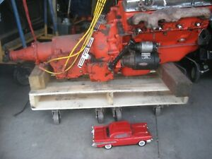 1956 Chevrolet 265 Cubic Inch Engine With Powerglide Transmission