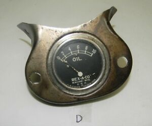 1928 1929 1930 1931 Model A Ford Oil Pressure Gauge Rex A Co
