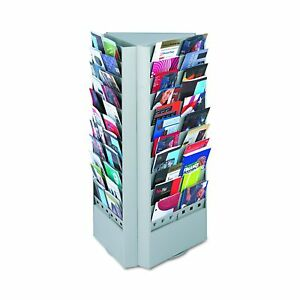 Safco Products Book Magazine Rack Storage Organizer Display Steel Ba