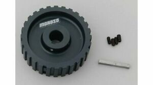 Moroso Pulley Accessory Drive Gilmer Style Billet Aluminum Clear 28 Tooth Ea