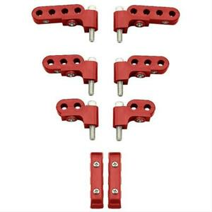 Mfy 5095613 Ignition Wire Loom separator Horizontal Polymer Red 7 8mm Kit