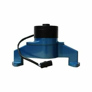 Proform Water Pump Electric 35 Gpm Aluminum Blue Chevy Bb Includes Hose Adapter
