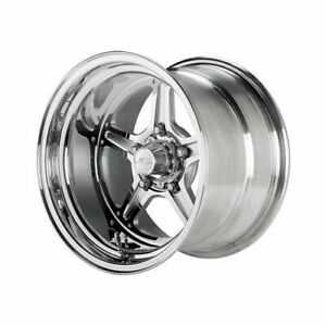 Billet Specialties Street Lite Polished Wheel 15 x10 5x4 75 Bc