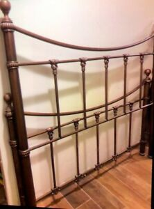 Antique Queen Size Bed Frame