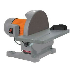 12 In 1 1 4 Hp Disc Sander Central Machinery 43468