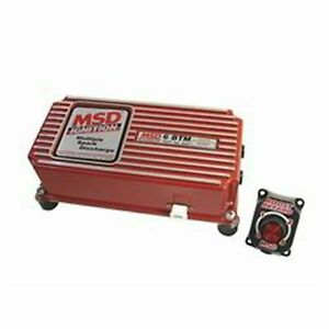 Msd 6462 6 Btm Cd Ignition Box With Built In Boost Control Turbo Supercharger