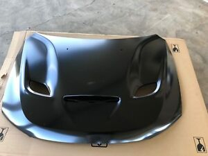 11 18 Dodge Durango Srt Performance Hood Metal E Coat 3 Bezels Mopar Oem