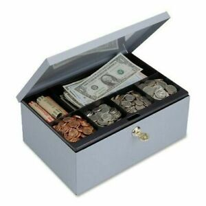Steelmaster Cash Box With Security Lock Includes Keys 11 25 X 4 38 7 5 Inches