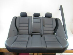 08 Mercedes W204 C63 Seats Rear Black Amg