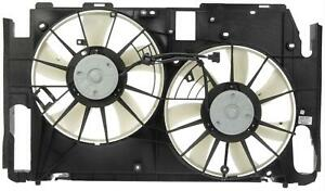 Dorman 620 597 Dual Fan Assembly Without Controller