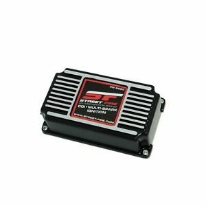 Msd 5520 Street Fire Cdi Multi spark Ignition Box With Rev Control 4 6 8 cyl