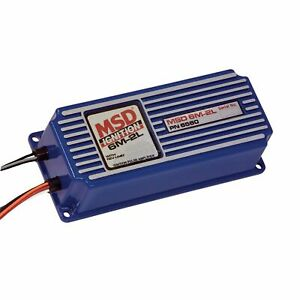 Msd 6560 6m 2l Marine Analog Capacitive Discharge Ignition Box With Rev Limiter