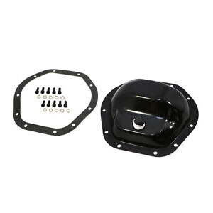 Dana 44 Black Steel Differential Cover Kit Ford Chevy Dodge Jeep Front Rear