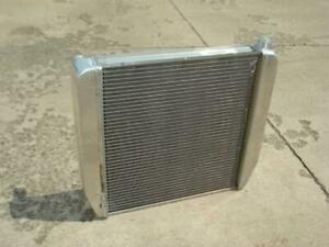Universal Race Car 22 X 19 Ford Engine Griffin Aluminum Radiator Blem Save