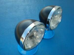 Guide Style Headlights Old School Rat Rod 1928 29 30 31 32 Ford Pick Up Model A