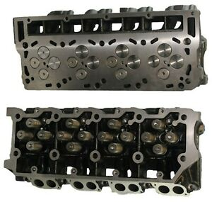 Ford 6 0 F250 F 350 Truck Turbo Diesel Cylinder Heads Pair Cast 080 02 06 18mm