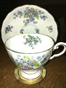 Vintage Tuscan Bone China Tea Cup Saucer Made In England