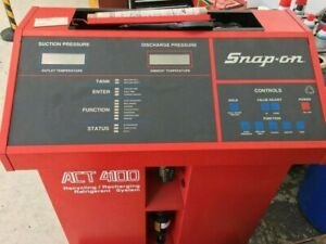 Snap On A c Recovery Machine